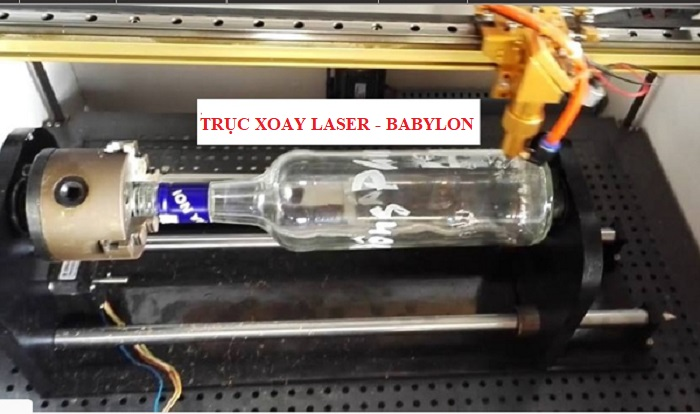Truc xoay may laser 6040